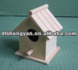 Wooden Blue Bird Houses for Garden Decoration