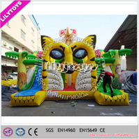 Outdoor new design inflatable bouncer, jumping bouncy castle for sale