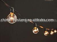 C7 hanging light string