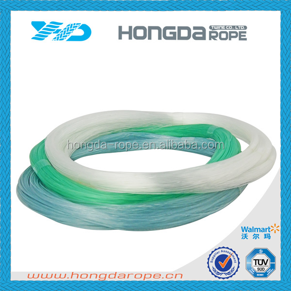 Fluorescent mono nylon fishing line monofilament crystal for Fluorescent fishing line