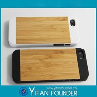 Natural Wood Carving wooden case for iphone 5 5s hard back covers