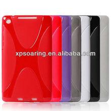 "X line tpu case skin cover for Google Nexus ii 7"" tablet"