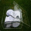 hot sunglasses acrylic shoe display case for adidas sneaker box