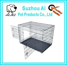 2015 New Portable Folding Iron Fence Dog Kennel
