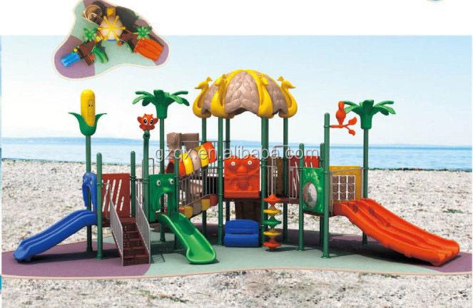 Outside ground cheap outdoor slides childrens garden toys for Module de jeu exterieur