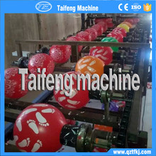 TF-BP 1.5g metallic 100% natural latex high quality hot selling advertising balloon screen printing machinery line set