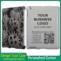 2016 New Product Custom Phone Case for iPad 2/3/4 case, Back Cover for iPad