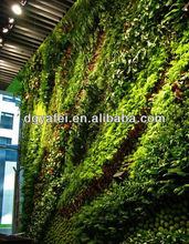 Artificial natural plants wall/fake nature plants for Beautify ing entertainment
