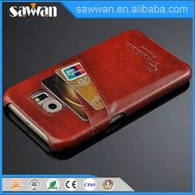 trendy style sublimation 3d mobile phone case real wood with pc case for Samsung Galaxy S6