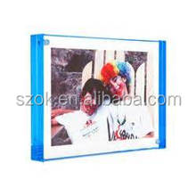 Double sided desktop acrylic picture frames for sale