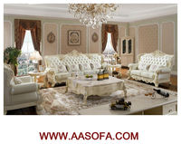 classical white antique french sofa living room furniture