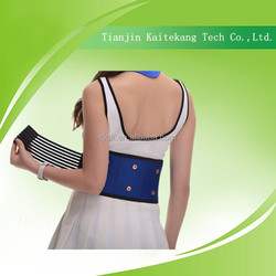 New style Curves trimming Thermal Lumbar back Pads Lumbar spine brace
