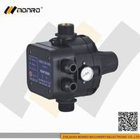 2015 Zhejiang Monro all black pressure switch control for water pump(EPC-5A)