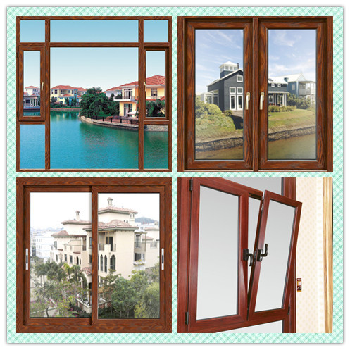 Double Glazed Luxury Iron Windows With Internal Blind - Buy Luxury ...