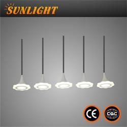 zhongshan lighting Silver acrylic LED Rectangular Chandelier Light & Modern Chandelier & Large Hotel Chandelier