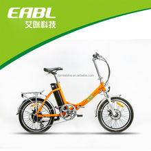 20 inch mini foldable electric bike with special design and fashion style