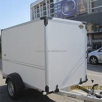 plastic fiberglass enclosed van trailer made of composite material holypan
