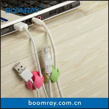 boomray factory 2014 promotional TPR colorful multipurpose cable management tea set gift items
