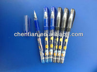Hot-selling free sample CT-908 gel luxury pen
