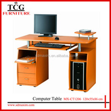 TCG wooden home office furniture computer desk with drawers