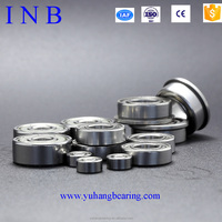 Alibaba China deep grove ball bearing MF106ZZ miniature flange bearing