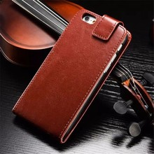 For iphone6 Leather Case With card slot Top open