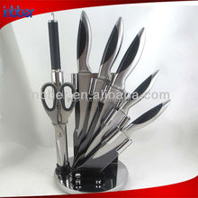 Hot sale!Professional top grade 7pcs stainless steel knife set kitchen