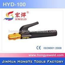 De alta potencia de amplificador 500 cobre portaelectrodo/abrazaderas para la soldadura