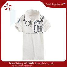 newest fashion popular style colorful pure cotton baby t-shirt