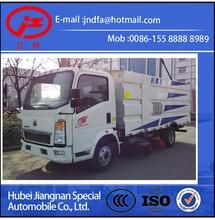 HOWO EURO 4 road clean vacuum sweeper truck(JDF5070TSLZ4)