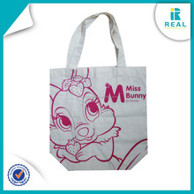 Hot Sales Cute Recycled Promotional Customized Cotton Shopping Bag