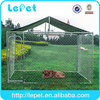 wholesale large outdoor dog cage for sale cheap/large dog fences/lowes dog kennels and runs