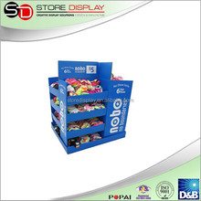 Revolvable cardboard display Metal Display Stand For Shoe