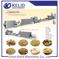 full automatic Corn flakes /breakfast cereals processing line