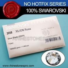 Wedding Dress Swarovski Elements Silver Shade (SSHA) 3ss Flat Back Crystal No Hotfix Rhinestone