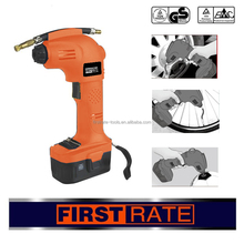 Hot sale portable 12v rechargeable air compressor car tyre inflator