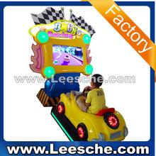 LSJN-076 new arrival coin operate kiddie rides crazy kart game machine type kids baby racing car motor bike racing games