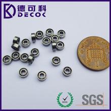 low price small deep groove ball bearing 681