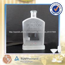botella de vidrio de alta calidad barata 750 ml para la invitación
