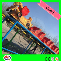 Exported 30 countries train type small roller coaster for sale