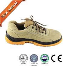 Antisquashy steel toe cap brand safety men shoes