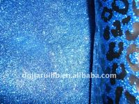 hot selling shoes glitter printed fabric