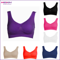 Purple Mama Freedom Wear Pilates Yoga Bra with Removable pad