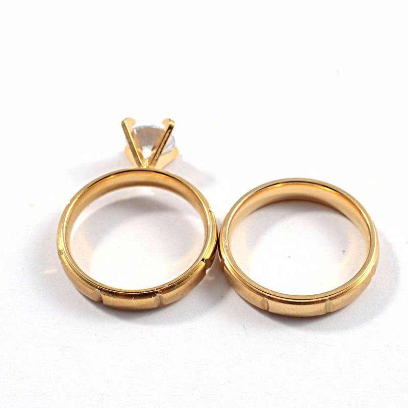 Stainless steel jewelry 2015 wholesale wedding ring solid for Wholesale 14k gold jewelry distributors