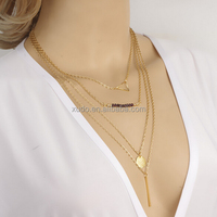 IN STOCK!!!handmade full and factory directly sale fashion cheap pendant necklace chains