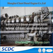 used MTU diesel engine