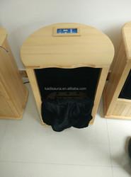 Canadian Hemlock massage foot sauna