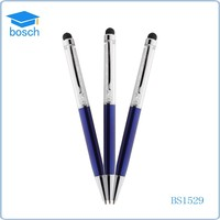 2015 High quality metal crystal stylus ball pen for 3ds for promotion product