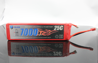 KAN 14.8V 7000mAh 25C rechargeable lipo or li-ion battery for rc car, boat, airplane and rc helecopter