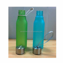 High quality plastic filter mineral sports water bottle